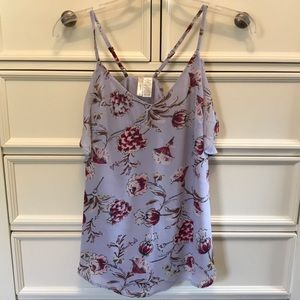 Juniors Floral Tank Small